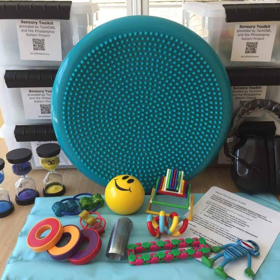 multiple sensory kits